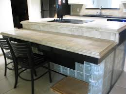 split level kitchen island awesome bi level kitchen island taste