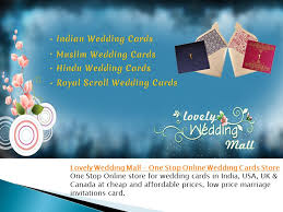 muslim wedding cards usa lovely wedding mall one stop online wedding cards store ppt