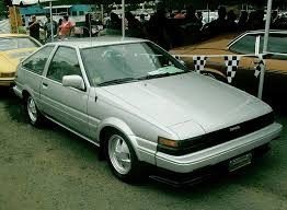 toyota corolla gt coupe ae86 for sale usdm ae86 bumpers