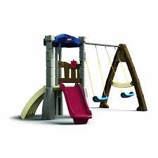 little tikes swing set kids pinterest