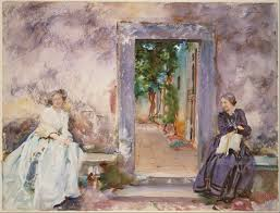 Google Wall by File John Singer Sargent The Garden Wall Google Art Project