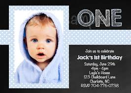 invitation first birthday boy image collections invitation
