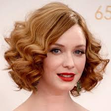 easy 1920s hairstyles get the look 1920s waves like christina hendricks emmys hair