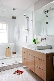 Bathroom Vanity Vancouver by Vancouver Stand Up Shower Bathroom Contemporary With White Sinks