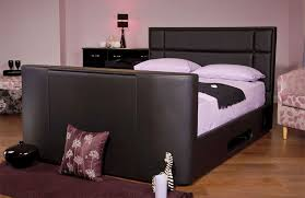 sweet dreams haydn faux leather tv bed with storage buy online