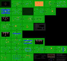The Legend Of Zelda A Link Between Worlds Map by The Architecture Of The Legend Of Zelda Nes Snes Gaming Symmetry