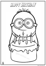 birthday coloring pages boy spongebob happy birthday coloring pages 315787