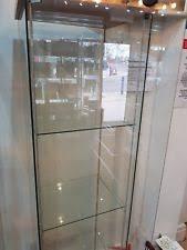 ikea fabrikor ikea fabrikor glass door cabinet beige display case ebay