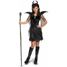 jetsons halloween costumes maleficent deluxe black gown and headpiece girls u0027 teen halloween