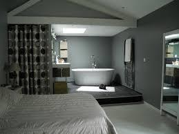 chambre avec salle de bain chambre avec salle de bain ouverte maison design bahbe com
