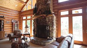 Chalet Designs Fox Woods Home Tour Hybrid Log Chalet Style Dickinson Homes