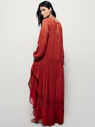 Free People Jessie Maxi Dress In Brown Lyst