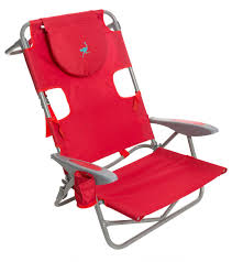 Beach Lounge Chair Ostrich Face Down Beach Chair W Backpack Straps At Swimoutlet Com