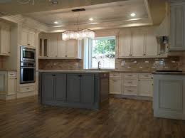 pics of kitchens with white cabinets and gray walls antique white cabinets with gray island my ideal home