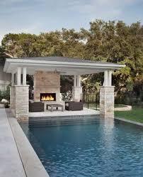 Backyard Cabana Ideas Best 25 Pool Houses Ideas On Pinterest Pool House Designs