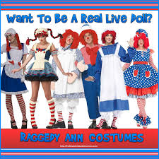 Raggedy Ann Costume Raggedy Ann And Andy Costumes Diy Costume Model Ideas