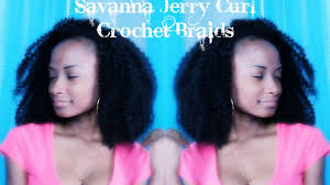 savannah braids hairstyles savanna jerry curl crochet braids youtube