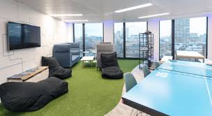 office design fluidone the best place to work interaction