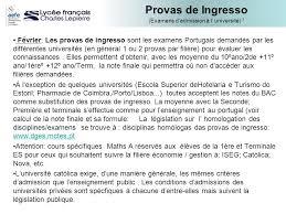 ingresso s acc礙s aux 礬tudes sup礬rieures au portugal ppt carregar