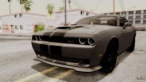 Dodge Challenger Mods - dodge challenger srt hellcat 2015 hqlm for gta san andreas