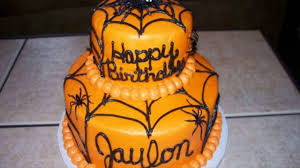 halloween birthday cakes youtube