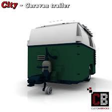 mini cooper lego custombricks de lego custom moc city caravan trailer wohnwagen