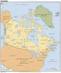 Map Of Canada Cities And Provinces by