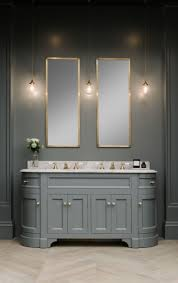 double stratford vanity unit painted in btwn dog and wolf paint