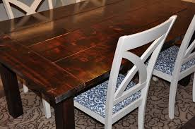 ana white dining room table ana white farm house dining room table diy projects do it yourself