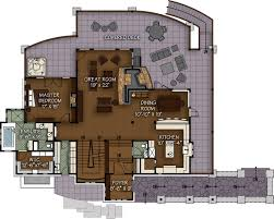 Timber Floor Plan by The Rock Haven Floor Plan By Canadian Timberframes Ltd