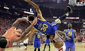 Stephen Curry Memes - stephen curry falls on head leaves warriors rockets game 4