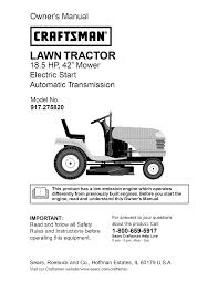 craftsman dlt 3000 917 275820 user manual 56 pages
