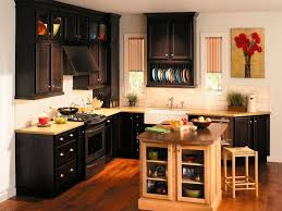Black Kitchen Cabinet by Kitchen 46 Black Kitchen Cabinets With Granite Coutertops