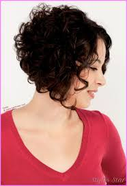 curly and short haircut showing back nice short curly haircuts for women back and front stars style