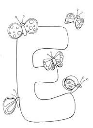 letter coloring printable letter coloring free letter