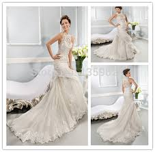 wedding dress kebaya dt 050 vintage lace high neck mermaid wedding dresses 2015 kebaya