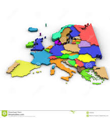 Simple Map Of Europe by Europe Restricted Map Royalty Free Stock Images Image 27340309