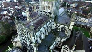 Gloucester Cathedral Dji Drone Footage 4k Youtube