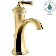 kohler bathroom faucets polished brass beautiful kohler kohler devonshire single hole single handle water saving bathroom