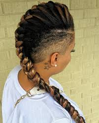 braided mohawk hairstyles with weave 2017 creative hairstyle
