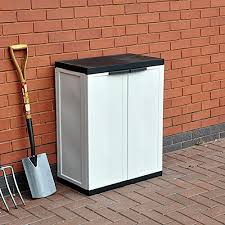 funkybuys medium garden storage chest cupboard cabinet box w