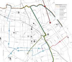 Vta San Jose Map by Routes 26 56 256 82 U2014 Vta