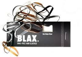 blax hair elastics blax snag free hair elastics luxurious hair tie black buy it