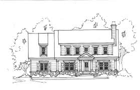 front elevation of house sketch exterior elevations of our new
