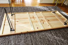 Elsies DIY Dining Room Table  A Beautiful Mess - Building your own kitchen table