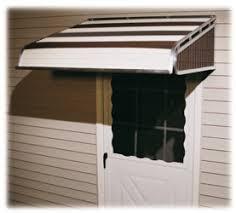 Fabric Door Awnings Fabric U0026 Aluminum Door Awnings In Canada