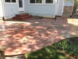 Flagstone Patio Installation Cost by Mixture Of Old Colorado Buff Flagstone And New Lyon U0027s Red