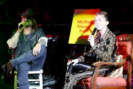 miley cyrus talks music inspirations at album release party