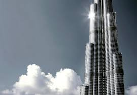 the amazing modern architecture of burj khalifa modern