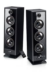 Home Genius by Amazon Com Genius 31731043101 60w Rms V2 2 0 Speaker System Wood